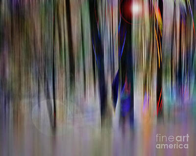 Digital Art - Forest Of Infinity by Edmund Nagele