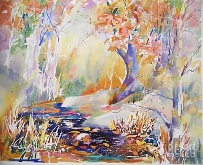 Forest Palette Art Print