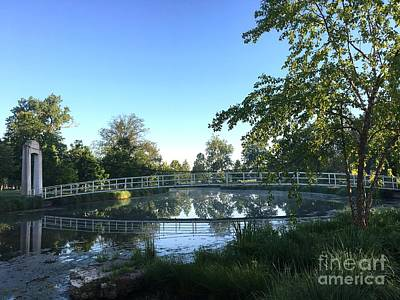 Photograph - Forest Park Bridge by Nancy Kane Chapman