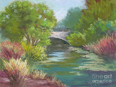 Painting - Forest Park Bridge by Vic Mastis