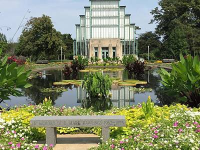 Photograph - Forest Park Jewel Box by Barbara Plattenburg