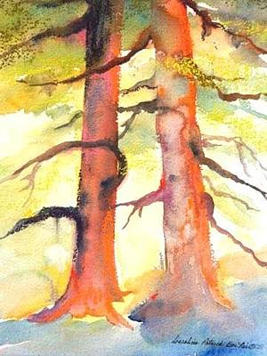 Painting - Forest Partners by Caroline Patrick