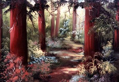Painting - Forest Path by Joni McPherson
