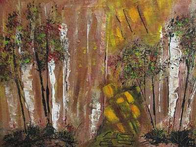 Painting - Forest Primeval by Sharyn Winters