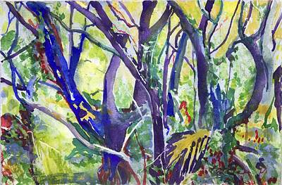 Painting - Forest Rainbow by Kathleen Barnes
