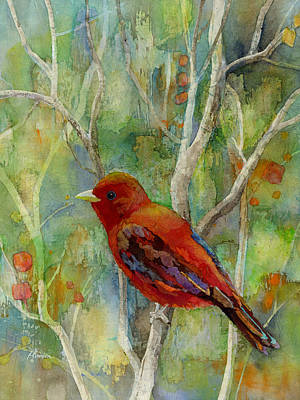 Forest Serenity Art Print by Hailey E Herrera