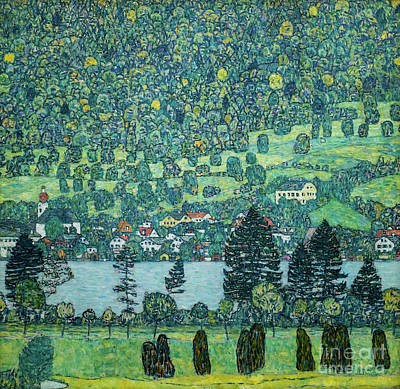 Painting - Forest Slope In Unterach On The Attersee by Gustav Klimt