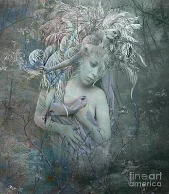 Digital Art - Forest Spirit by Ali Oppy