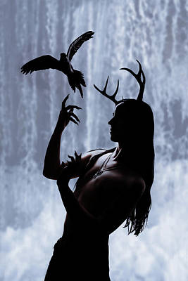 Male Wall Art - Digital Art - Forest Spirit by Cambion Art