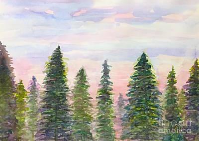 Painting - Dawn    by Wonju Hulse
