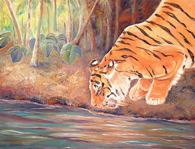 Painting - Forest Tiger by Elizabeth Lock