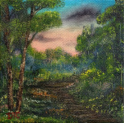 Painting - Forest Twilight  by Tom Conboy