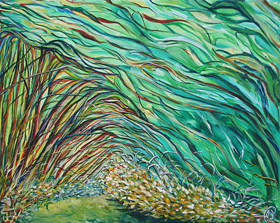 Painting - Forest Under The Sea by Ajp