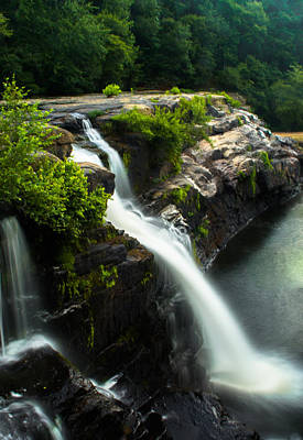 Photograph - Forest Waterfall by Parker Cunningham