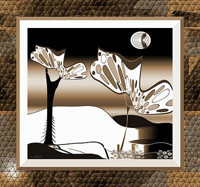 Digital Art - Forest Way by Iris Gelbart
