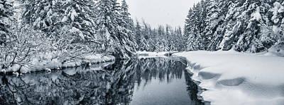 Photograph - Winter Creek by Scott Slone