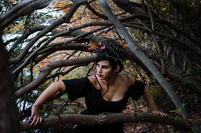 Photograph - Forest Witch 3 by Stefanie Silva