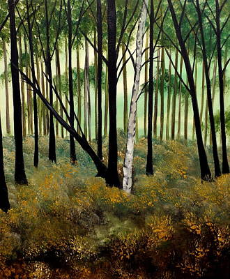Painting - Forestry by Lisa Aerts