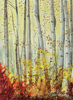 Forever Autumn Print by Stanza Widen