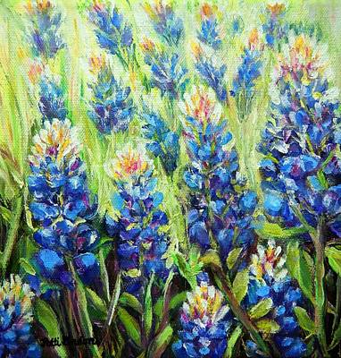 Painting - Forever Bluebonnets by Patti Gordon