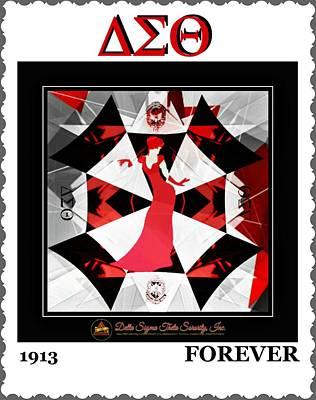 Forever Delta  Art Print by Lynda Payton