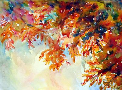 Painting - Forever Fall by Kim Shuckhart Gunns