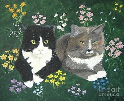 Painting - Forever Friends by Norm Starks