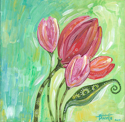Painting - Forever In Bloom by Tanielle Childers