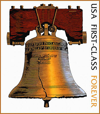 Philadelphia History Painting - Forever Liberty Bell by Lanjee Chee