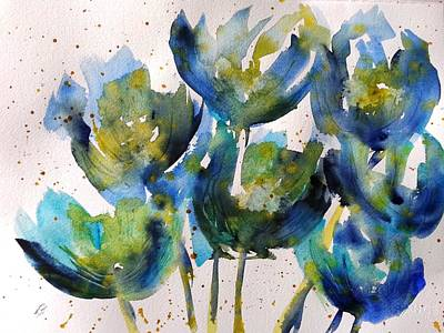 Painting - Forever Loving Blue by Kim Shuckhart Gunns