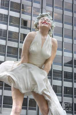 Photograph - Forever Marilyn - 2 by David Bearden