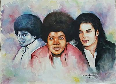 'forever Mj' Art Print by Okpeyowa Moses   Marquis