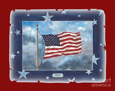 Forever Old Glory  Art Print by Herb Strobino