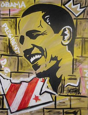Painting - Forever Potus by Antonio Moore