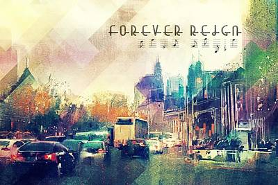 Digital Art - Forever Reign by Payet Emmanuel