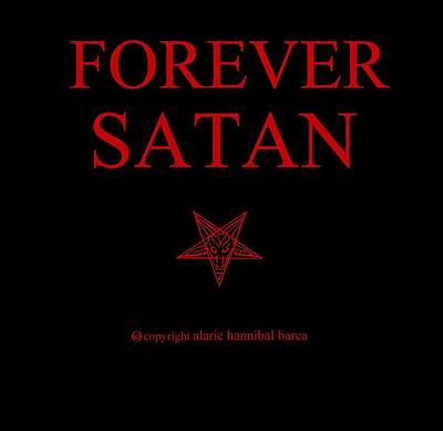 Forever Satan Art Print by Alaric Barca