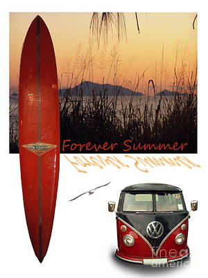 Photograph - Forever Summer 1 by Linda Lees