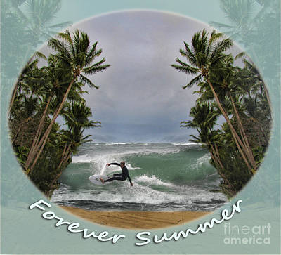 Photograph - Forever Summer 2 by Linda Lees