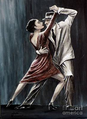 Painting - Forever Tango by Judy Kirouac