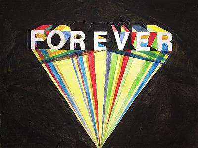 Forever Art Print by William Douglas