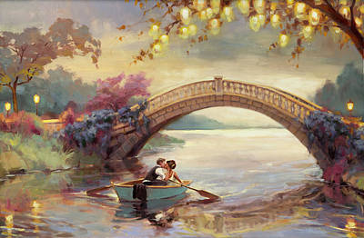 Henderson Wall Art - Painting - Forever Yours by Steve Henderson