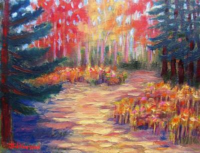 Painting - Forevergreen Preserve by Jason Williamson