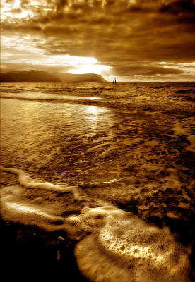 Beach Photograph - Forging Ahead by Mal Bray