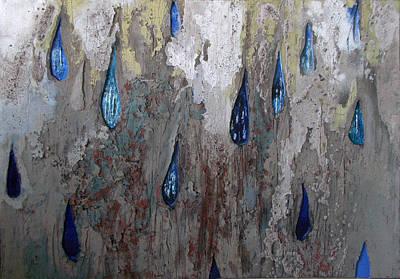 Cardboard Mixed Media - ,,forgiveness'' by Ivan Mitic