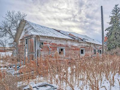 Photograph - Forgotten Barn by Jennifer Grossnickle