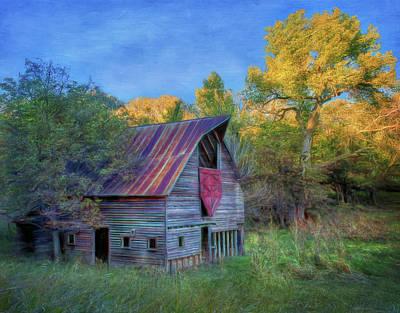 Photograph - Forgotten Barn by Nikolyn McDonald