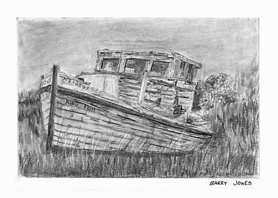 Drawing - Forgotten by Barry Jones