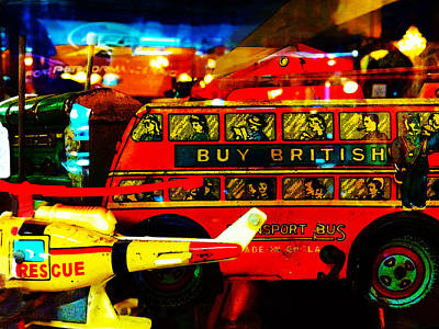 Photograph - Forgotten British Toys by Susan Vineyard