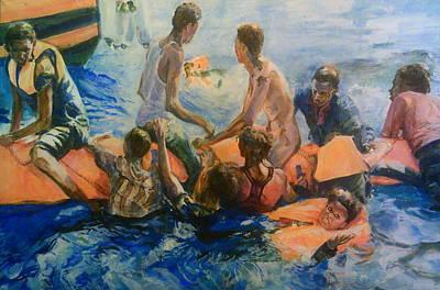 Painting - Forgotten But Not Gone by Rosanne Gartner