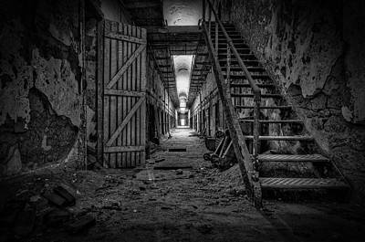 Photograph - Forgotten Cell Block by Jose Vazquez